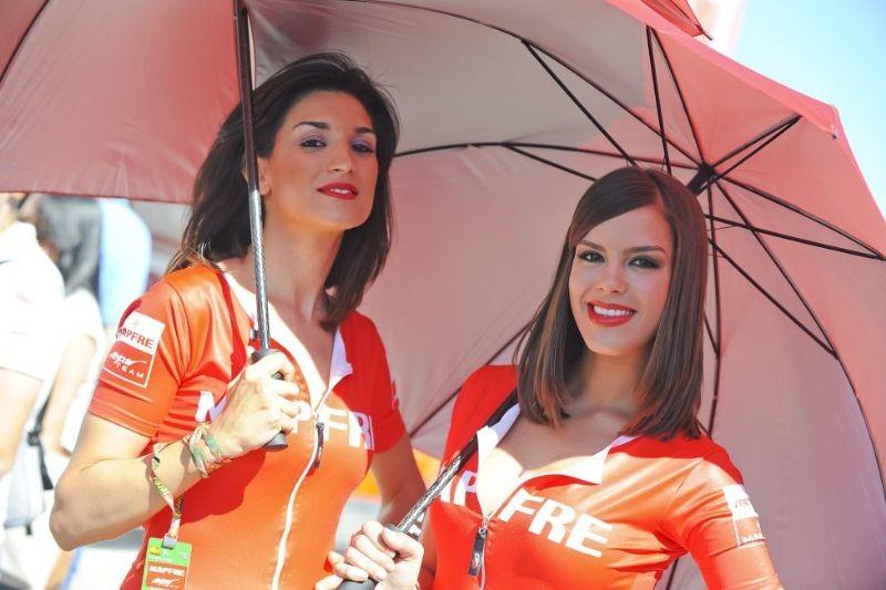MotoGP kızları nefes kesti 2