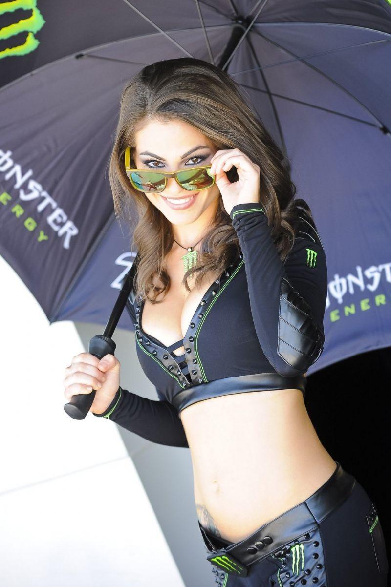 MotoGP kızları nefes kesti 7