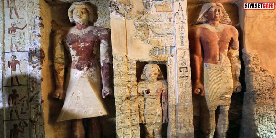 4 bin 400 yıllık mezar bulundu Bir benzeri yok
