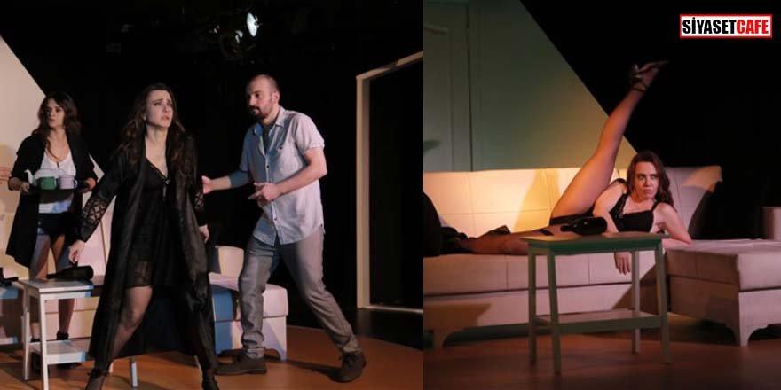 Deniz Uğur'dan 'Cesur' tiyatro: Mest etti