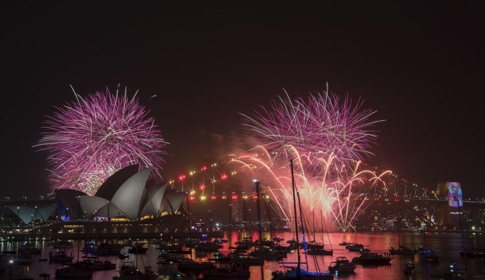 2019'a ilk 'Merhaba' diyen ülke Yeni Zelanda oldu 1