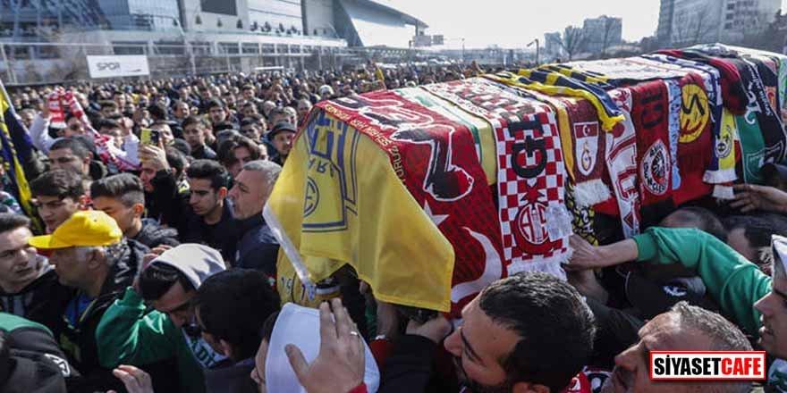 Kazada hayatını kaybeden Ankaragücü taraftarı için tören düzenlendi