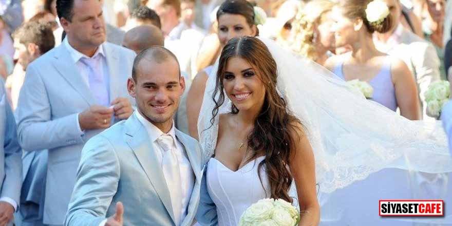 Wesley Sneijder'e ayrılık pahalıya mal oldu! İşte mal paylaşımının