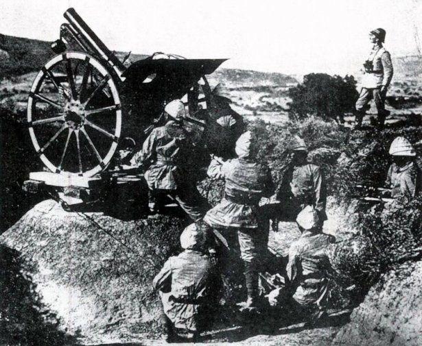 1. Dünya Savaşı'nın özel kareleri 1