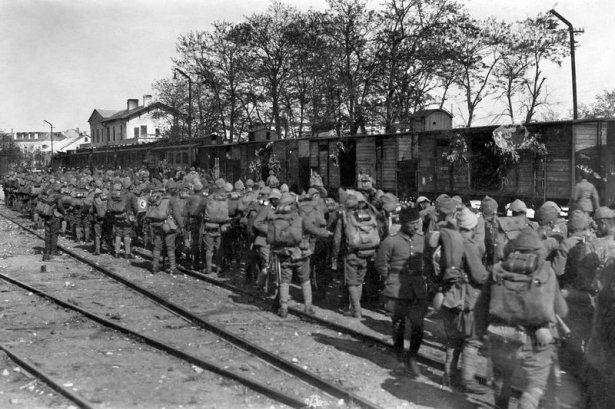 1. Dünya Savaşı'nın özel kareleri 18