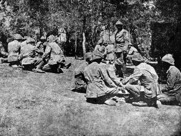 1. Dünya Savaşı'nın özel kareleri 19