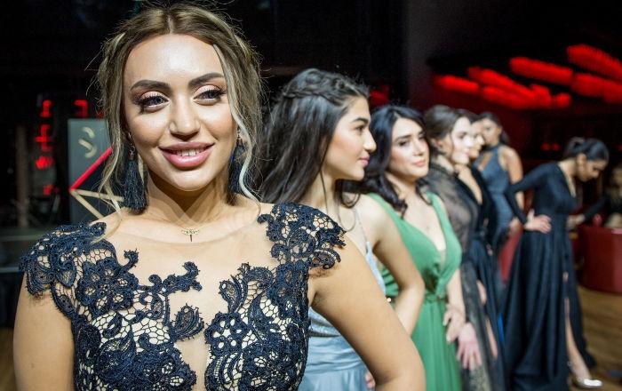 Azerbaycan'ın en güzel kadını adayları basına tanıtıldı 1