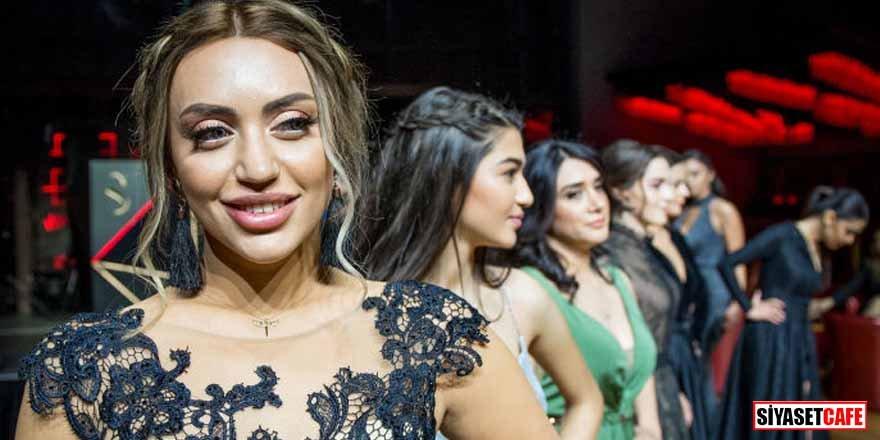 Azerbaycan'ın en güzel kadını adayları basına tanıtıldı