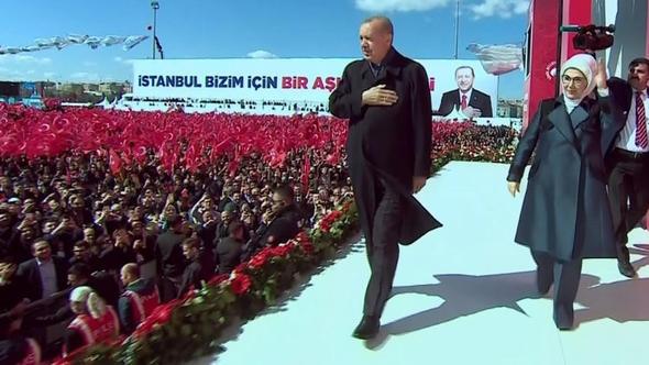İstanbul mitingine Cumhur akını 1