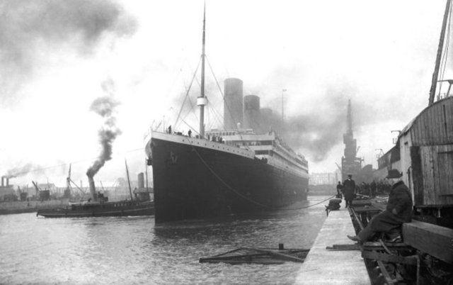 Titanik'in yayınlanmayan resimleri 12