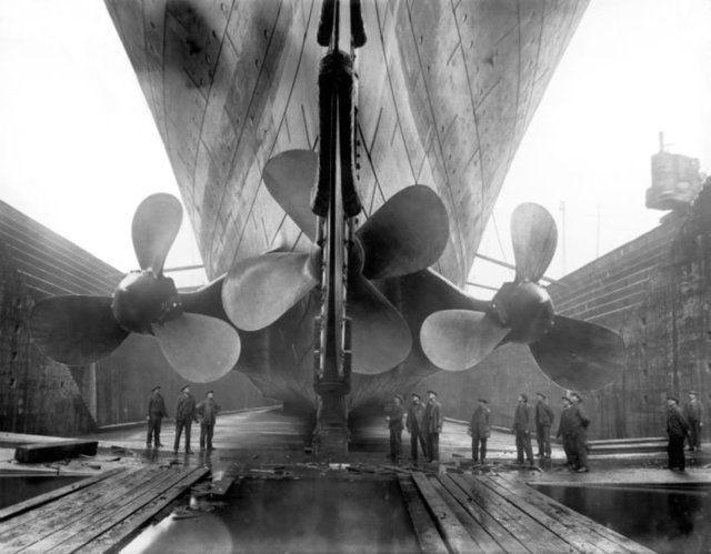 Titanik'in yayınlanmayan resimleri 14
