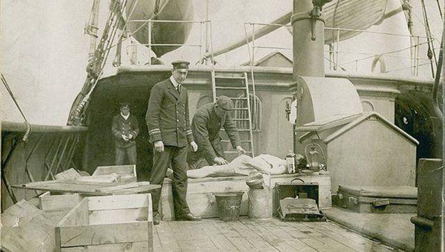 Titanik'in yayınlanmayan resimleri 4