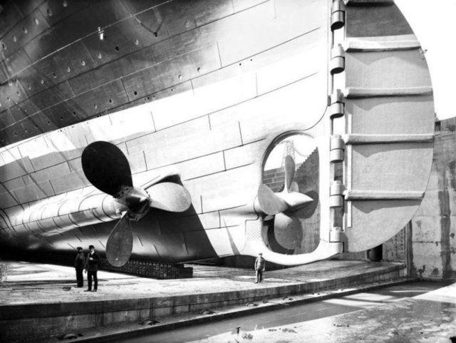 Titanik'in yayınlanmayan resimleri 5