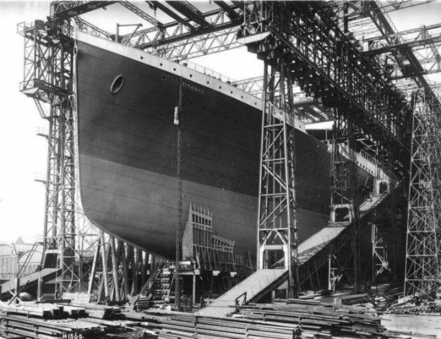 Titanik'in yayınlanmayan resimleri 8