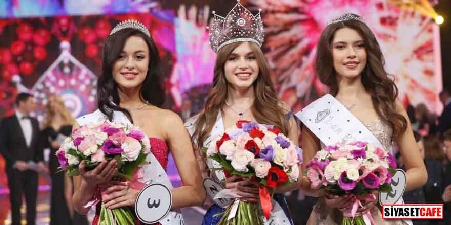 'Rusya'nın en güzeli' 20 yaşındaki Alina Sanko oldu