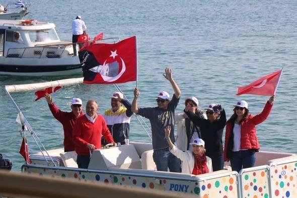 Samsun'da 100. yıl gururu Milletçe Atatürk'ün izindeyiz 1