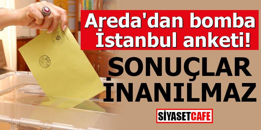 Areda'dan bomba İstanbul anketi! Sonuçlar inanılmaz