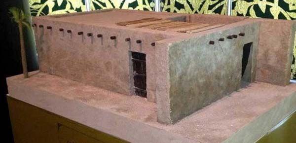 Hz.Muhammed'in evi işte böyleydi 14