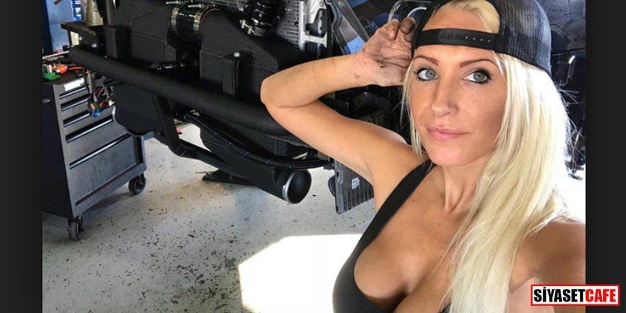 Sosyal medyayı salladı! En çekici oto tamircisi