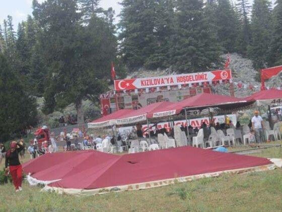 Çadırların altında kaldılar Antalya'yı hortum vurdu 1