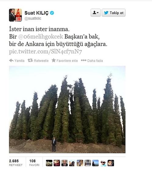 Twitter'da siyasilerin attığı birbirinden ilginç twitler! 1