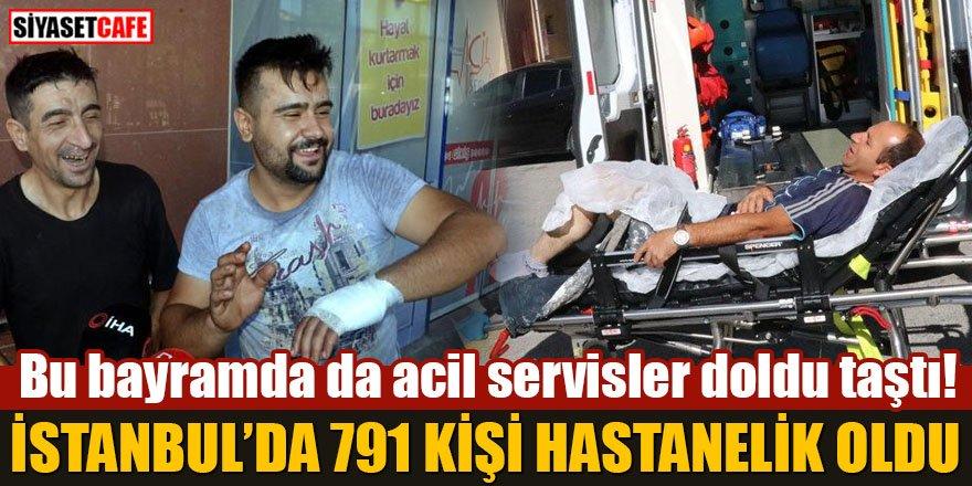 İstanbul'da 791 kişi hastanelik oldu