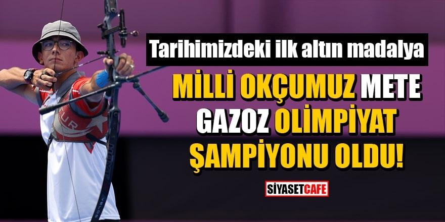 Milli okçumuz Mete Gazoz Olimpiyat şampiyonu oldu! 1