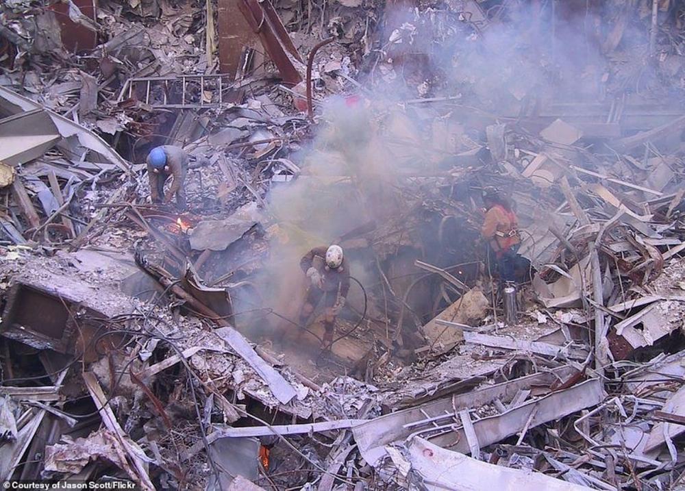 18. Yıl dönümünde hiç görülmemiş 11 Eylül Saldırısı fotoğrafları 1