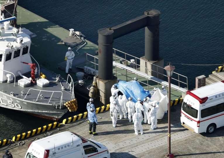 Japonya'daki gemide Koronavirüs durdurulamıyor! 41 kişiye daha bula 1