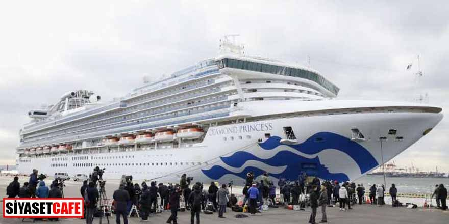 Japonya'daki gemide Koronavirüs durdurulamıyor! 41 kişiye daha bula