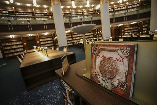 Türkiye'nin en büyüğü Millet Kütüphanesi yarın açılıyor 1