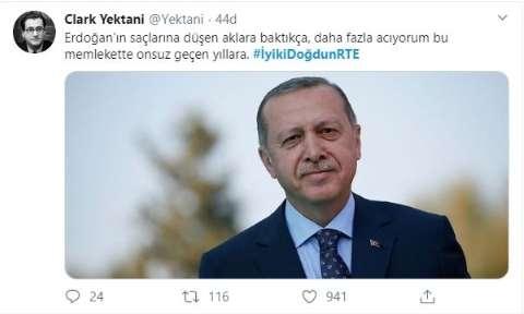 Erdoğan'a doğum günü için mesaj yağdı! #İyikiDoğdunRTE 1