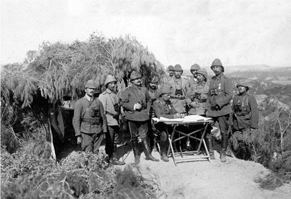 105. Yıldönümünde TSK arşivinden Çanakkale Zaferi Fotoğrafları 1