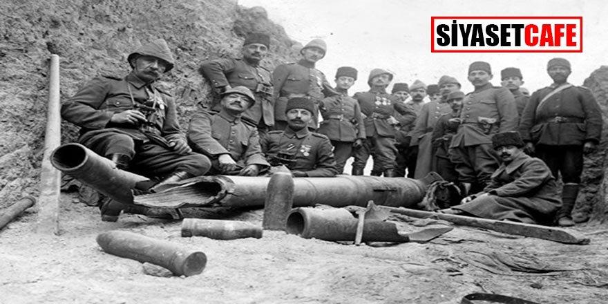 105. Yıldönümünde TSK arşivinden Çanakkale Zaferi Fotoğrafları