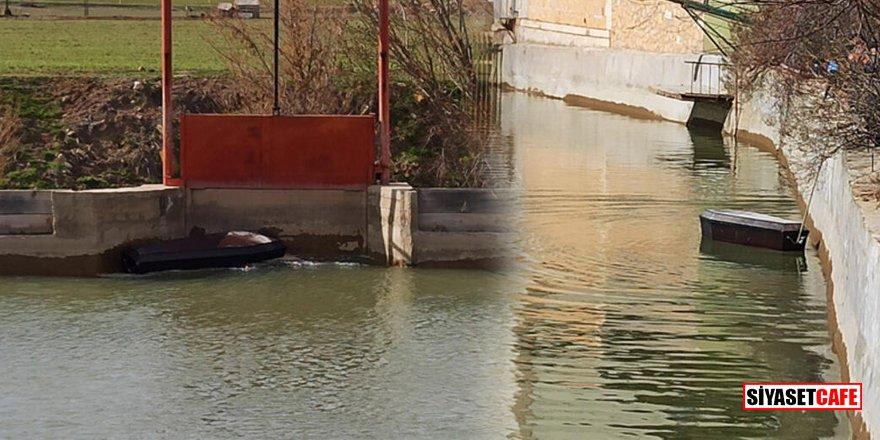 Bayburt'ta yüzen tabutlar görenleri şoke etti!