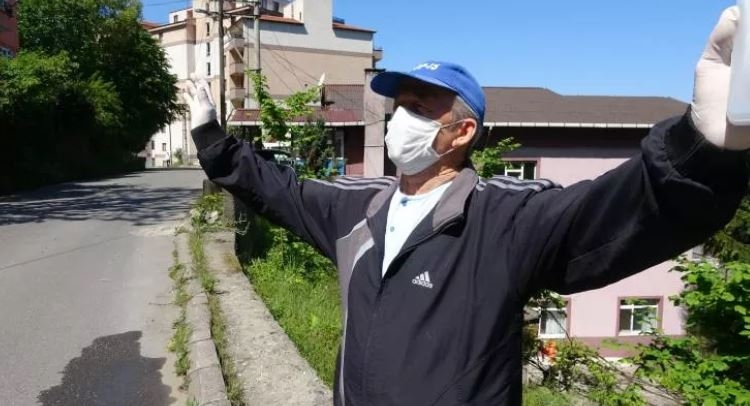 65 yaş ve üstü vatandaşlar havanın tadını böyle çıkardılar 1