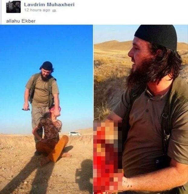IŞİD, PYD militanlarını böyle kesti 14