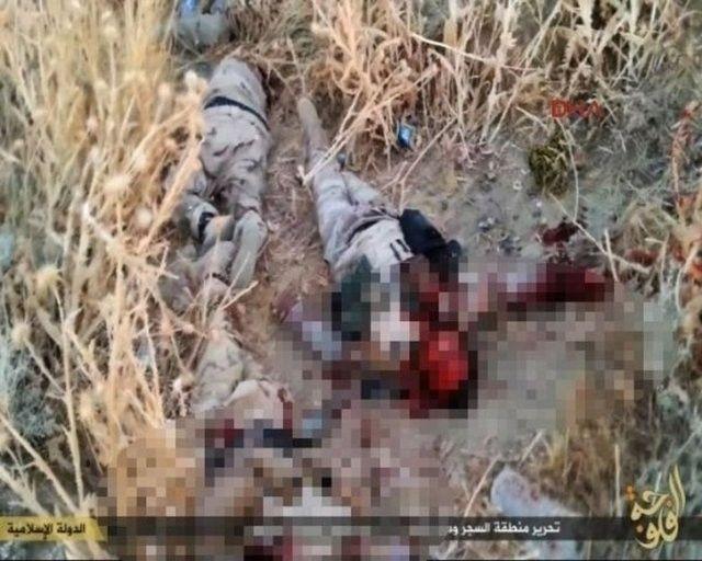 IŞİD, PYD militanlarını böyle kesti 15