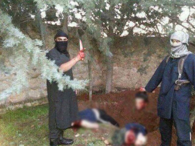 IŞİD, PYD militanlarını böyle kesti 19