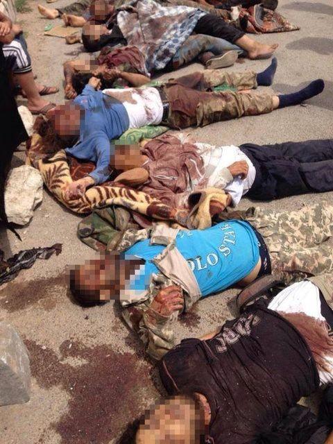 IŞİD, PYD militanlarını böyle kesti 21
