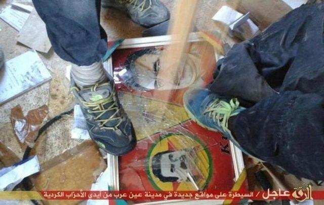 IŞİD, PYD militanlarını böyle kesti 3
