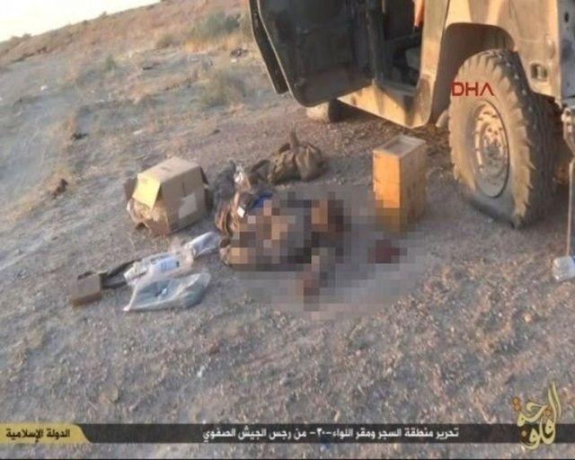 IŞİD, PYD militanlarını böyle kesti 4