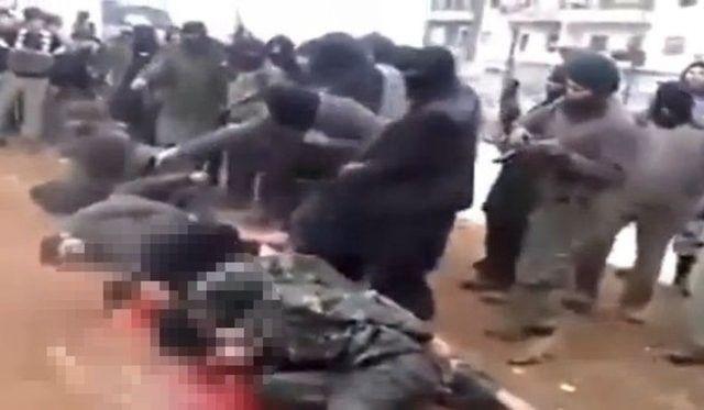 IŞİD, PYD militanlarını böyle kesti 8