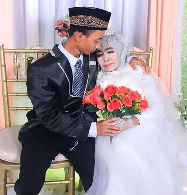65 yaşındaki kadın evlat edindiği 24 yaşındaki çocukla evlendi 1