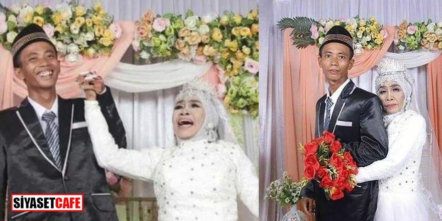 65 yaşındaki kadın evlat edindiği 24 yaşındaki çocukla evlendi