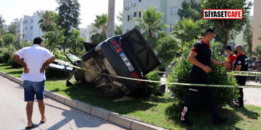 Sınava yetişmeye çalışan kız kardeşler trafik kazası geçirdi!