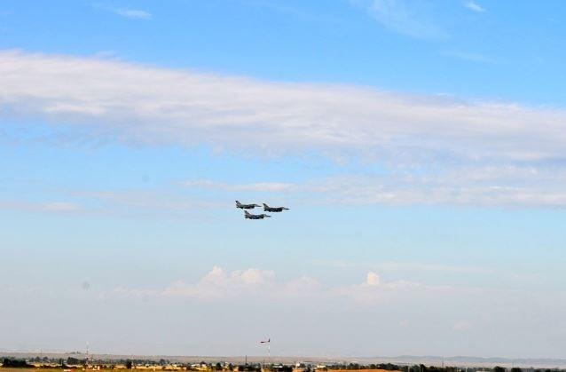 Türk F-16 uçakları Azerbaycan'da 1