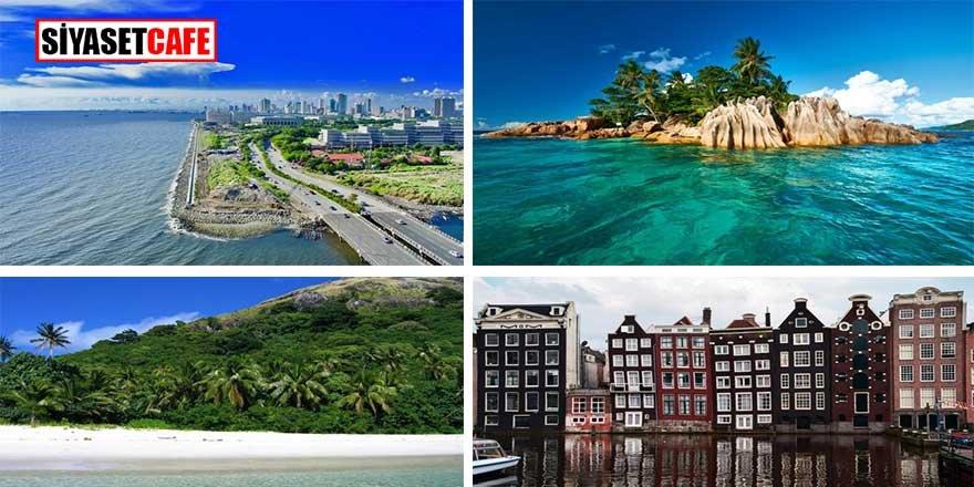 15 yıl sonra bu şehirler suya gömülecek