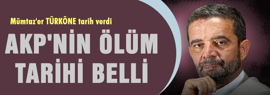 AKP'nin ölüm tarihi belli