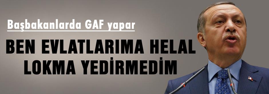 Erdoğan'dan inanılmaz gaf